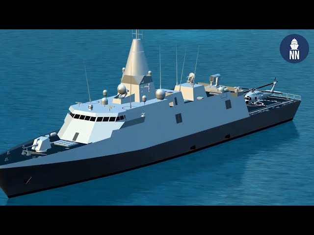 DEFEA 2021: Naval Ship Designs, Themistocles corvette, Trident SDV and Greek USV