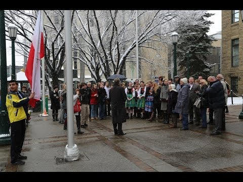 Polish Constitution Day  2014, Calgary