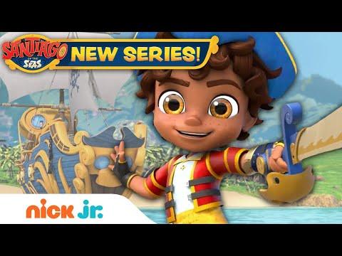 NEW SERIES: Santiago of the Seas Sneak Peek! | Nick Jr.