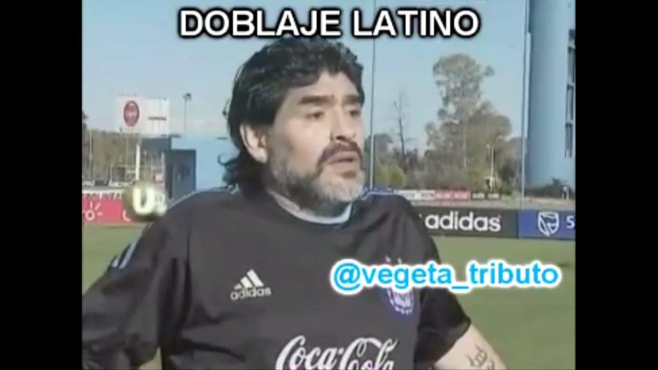 Maradona sobre Di María (2010) - Doblaje Latino