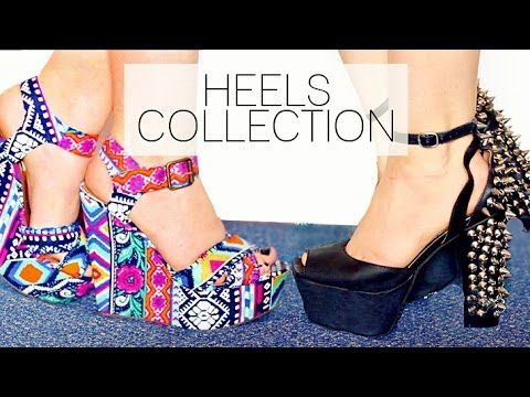 Shoe Collection: HEELS!