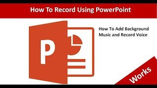 How to add voice in PowerPoint Presentation (add voice over) | Add voice narration in PPT