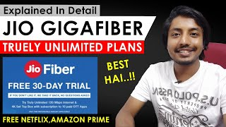 Jio Fiber New Plans (September 2020) | Rs 399 Mein Unlimited Data + Free Netflix & Amazon Prime 😱