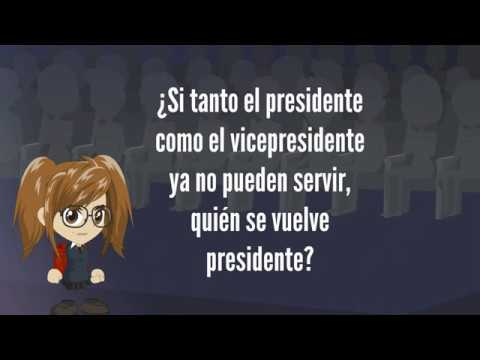 Si tanto el presidente como el vicepresidente ya no pueden servir, quien se vuelve presidente?