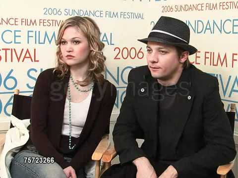 Julia Stiles and Jeremy Renner at the 2006 Sundance Film Festival  2