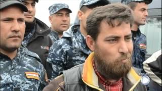 Repórter brasileiro fica em frente de batalha contra Estado Islâmico