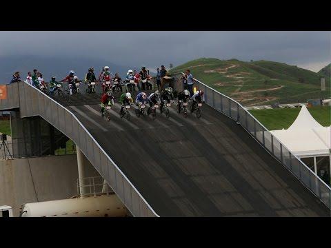 Evento-teste inaugura pista de BMX Super Cross da Rio 2016