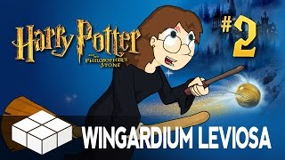 Lets Play - Harry Potter and the Philosopher's Stone #2 - Wingardium Leviosa!