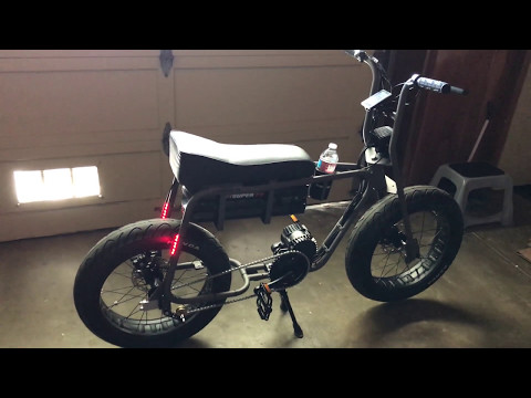 Sneak Peek at Lithium Cycles /// SUPER 73 Adventure Version (Dual Battery Frame) Electric Motorbike