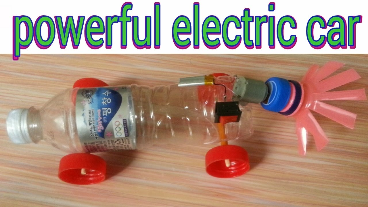 How to make a homemade electric toy car motor powered for Home made product for sale