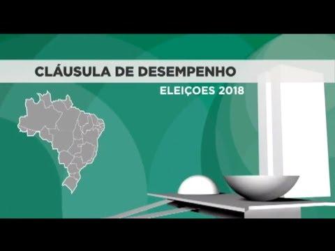 Cláusula de desempenho partidário terá como base resultado das eleições deste ano - 13/09/18
