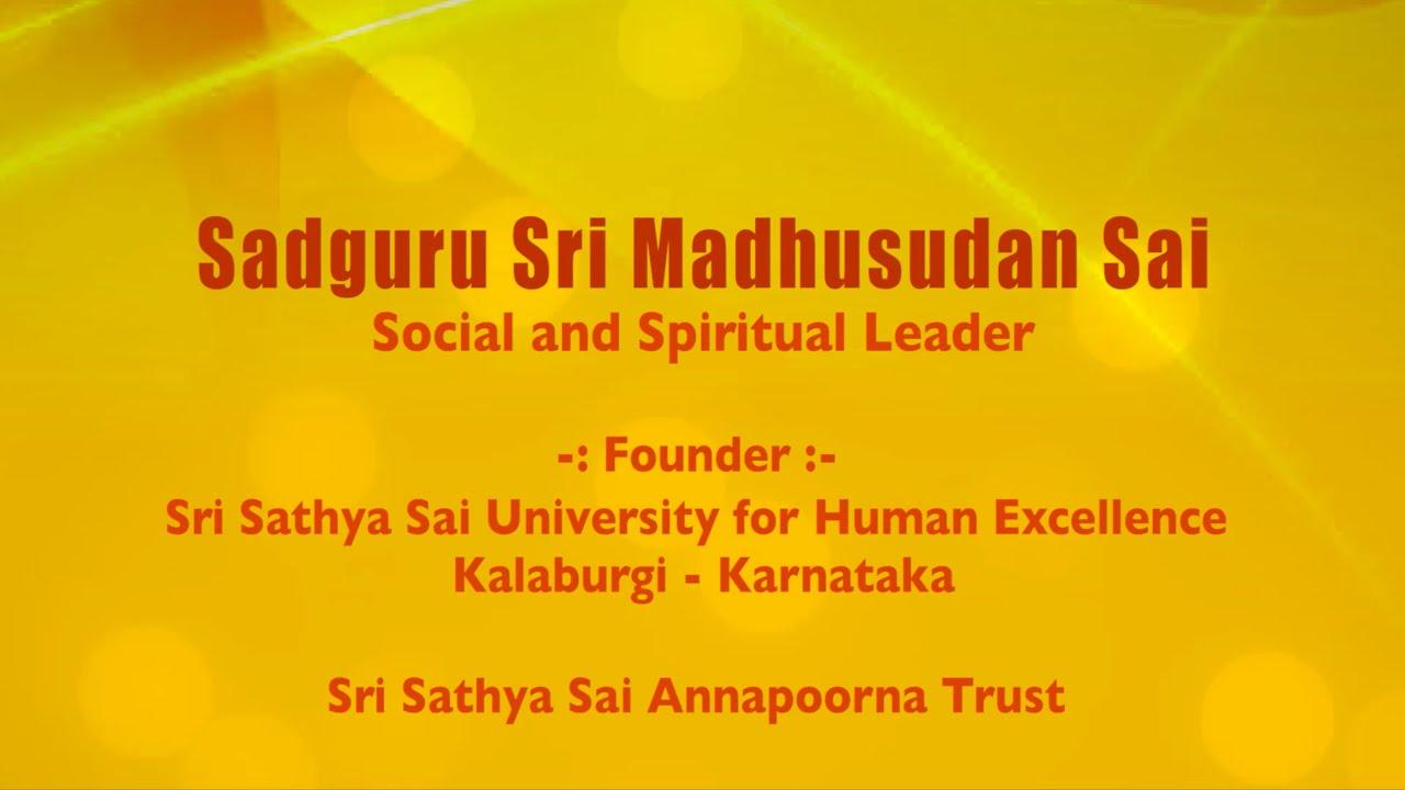 NEP 2020 - Sadguru Sri Madhusudan Sai