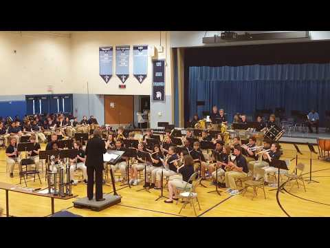 """2017 Tates Creek Middle School Eighth Grade Band """"Wipeout"""""""