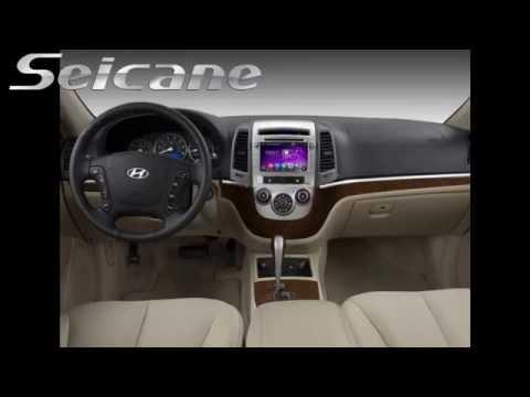 Hd Touch Screen 2006 2007 Hyundai Santa Fe Audio System