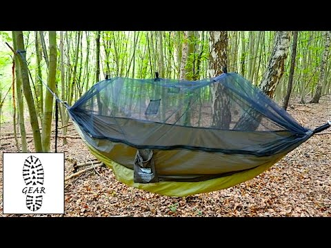 h ngematte moskito traveller thermo von amazonas youtube. Black Bedroom Furniture Sets. Home Design Ideas