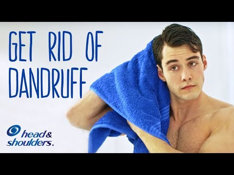How To Get Rid Of Dandruff For Men | Head & Shoulders