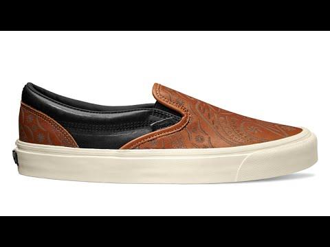 41411cd210 Shoe Review  Vans Vault x Taka Hayashi x Brooks TH OG Slip-On LX (Tortoise  Shell Peyote Bird)