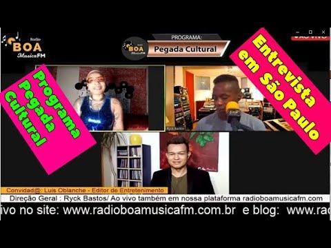 Uma entrevista na Rádio Boa Música FM, programa Pega Cultural - São Paulo.