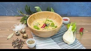 Холодный кокосовый суп   Суповарение