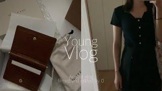 Vlog_직장인일상브이로그 | 데일리룩 | 지갑 잃어버…