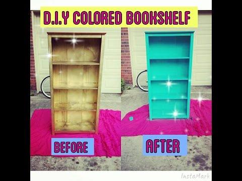 D.I.Y Glamorized Bookshelf !!