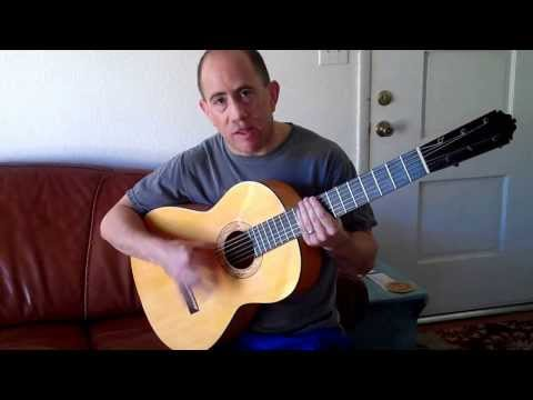 "Flamenco Guitar ""How to Play Rumba Rhythm"" - EASY"