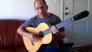 Flamenco Guitar How To Play Rumba Rhythm Pt I EASY