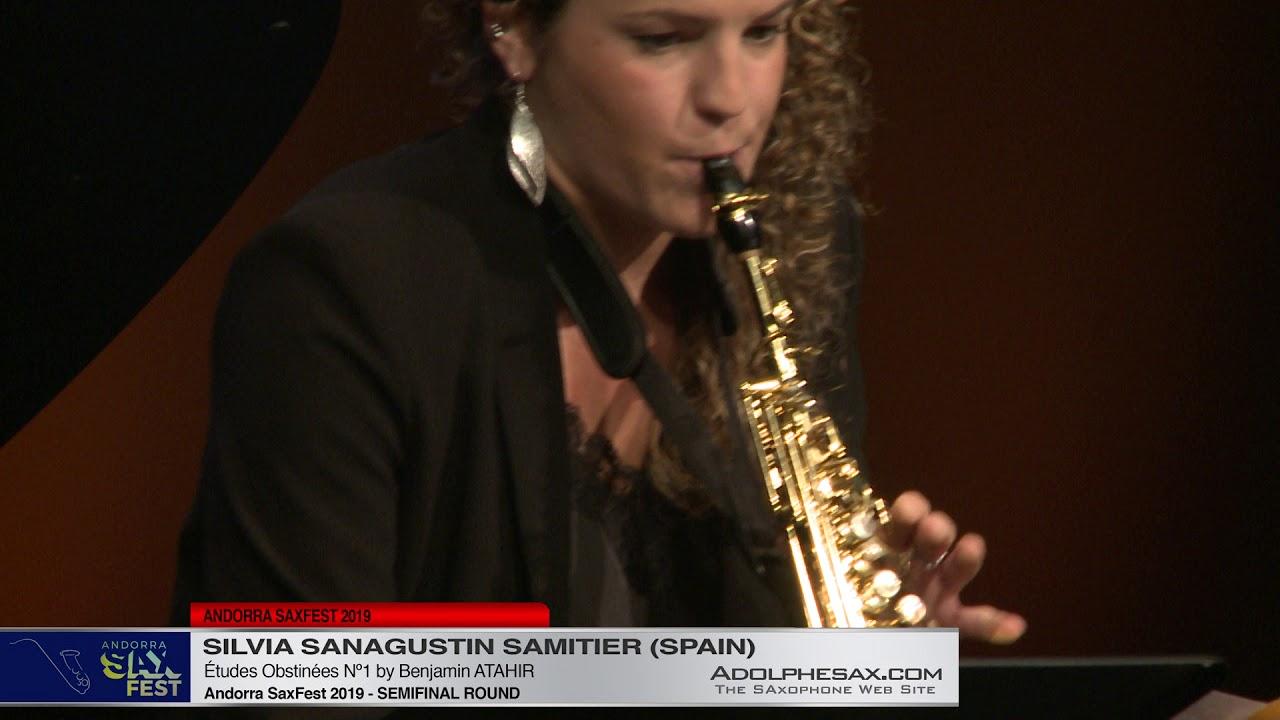 Andorra SaxFest 2019 Semifinal - Silvia Sanagustin Samitier - Études Obstinées Nº1 by Benjamin Ata