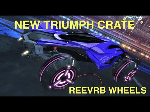 HUGE NEW ROCKET LEAGUE UPDATE WITH NEW TRIUMPH CRATE - +Giveaway