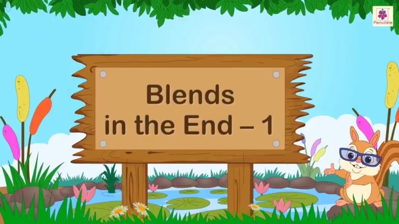 Consonant Blends For Kids   English Grammar   Grade 2   Periwinkle - YouTube [ 720 x 1280 Pixel ]