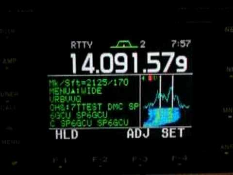 icom ic 7000 decoder rtty youtube rh youtube com