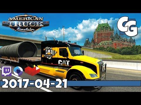 American Truck Simulator - VOD - 2017-04-21 - CanaDream 2.2.1 & C2C 2.0.2 - ATS Gameplay