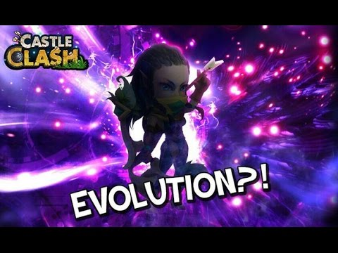 Castle Clash Evolve Elite & Ordinary Heroes?
