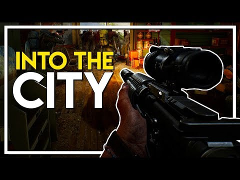 THE WALKING DEAD GAME! - Into the City for Looting! (Overkill's The Walking Dead Gameplay Part 2)