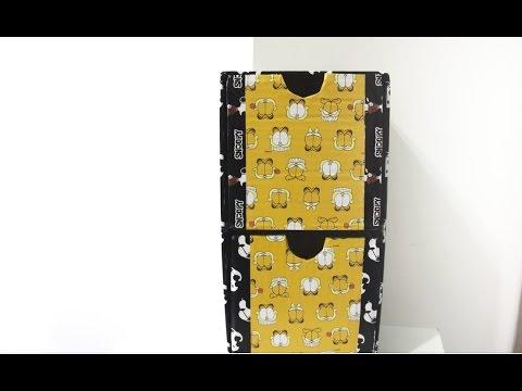 DIY Organizador mini-gaveteiro ✂️ Artesanato #NãoéCópia mas #PodeCopiar