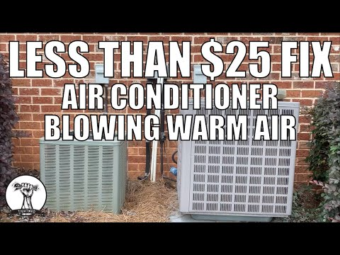 Easy and Cheap Repair - Air Conditioner Fan Not Spinning