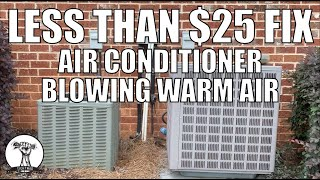 DIY: Easy and Cheap Repair - Air Conditioner Fan Not Spinning