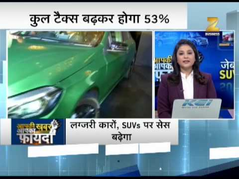 Planning to buy luxury car? Buy before govt increases cess to 25% - Watch this report