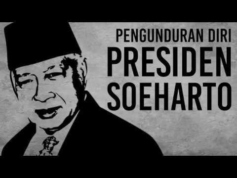 Mundurnya Presiden Soeharto
