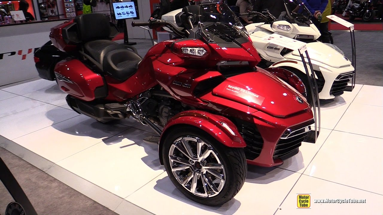 2017 Can Am Spyder F3 Limited Walkaround Toronto Motorcycle Show