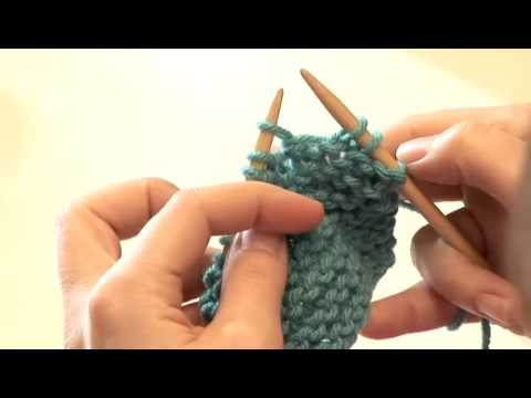 How To Do Wrap Stitch Knitting Youtube
