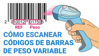 Cómo escanear códigos de barras de peso variable en Loyverse TPV