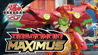 MAXIMUS DRAGONOID! Deka Bakugan! New York Toy Fair FAQ Thursday! | Bakugan Battle Planet NYTF