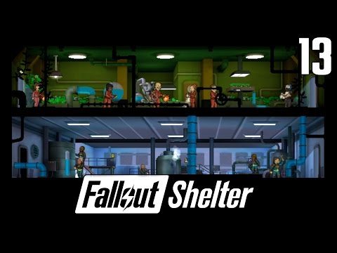 🔥 Fallout Shelter [#13] Ulepszony Garden i Water Purification