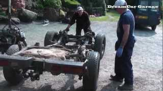 DCG1: The Ft Project Part 3 (How to lift the body off a Daihatsu Fourtrak/ Daihatsu Rocky)