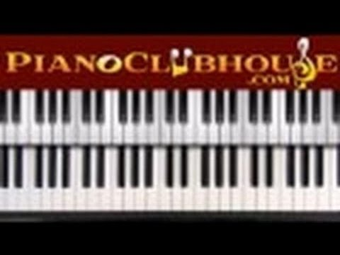 """♫ How to play """"WORDS"""" by Hawk Nelson (easy piano tutorial lesson)"""