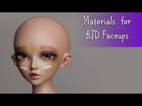 BJD Faceup Supplies!