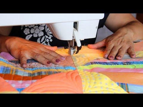 Как простегать одеяло? Стежка на швейной машине для начинающих (от начала и до конца)