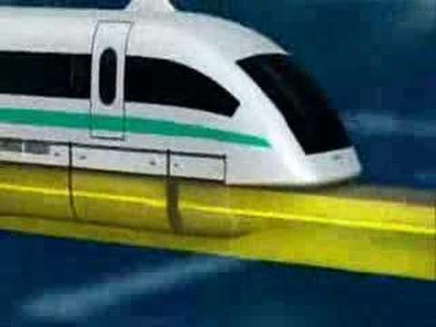 Magnetic Levitation Train Intro (Zweeftrein Intro)