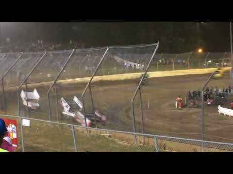 World of Outlaws sprint cars night 2 at Skagit Speedway